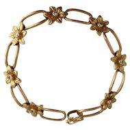 Portuguese Filigree 18ct Gold Bracelet Fable And Windsor