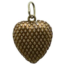 A Lovely Heart Locket, Probably French Ca1860