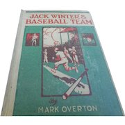 1919 edition of jack Winters baseball team young boys reading baseball