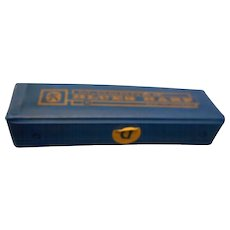 Small with original case vintage m hoener harmonica blues harp