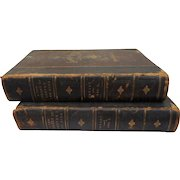 1880=1883 2 volume set a New Library of Poetryand Song  by william cullen Bryant