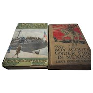 1914 and 1918 the Boy Scouts Under Fire in Mexico 1914 and Tom Slade on a Transport 1918