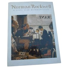 1972 edition with cover of Norman Rockwell a six year prospective many pictures
