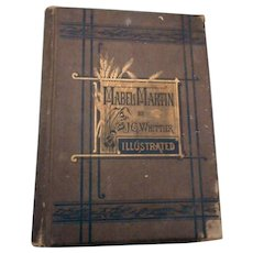 Mabel Martin A  Harvest Idyl ny John Greanleaf Whittier 1876 edition illustrateed