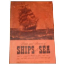 Vintage prints and pictures ships at sea many pictures