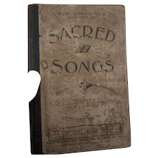 Circa 1880 Sacred Songs  no 1 208 pages