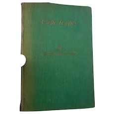 1930 edition of Cape scapes Cape Cod ma  by G Driver signed