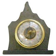 Vintage  Shortland Bowen stone cased barometer great Britain