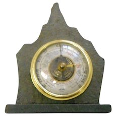 Vintage  Shortland Bowen stone cased barometer great Britain