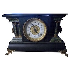 Circa 1900 Ingrahm  Adriqn mantle clock works