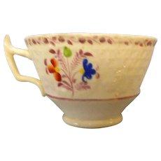 Circa 1870 soft paste coffee ecup-