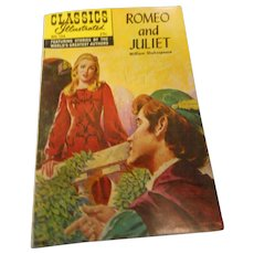 1956 1969 edition classics illustrated Romeo and Juliet