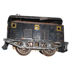Vintage Amerian Flyer locomotive train