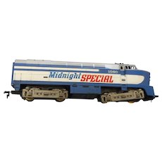 Tyco h o gauge Midnighty Special locomotive  2060