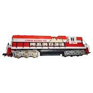 Vintage Tyco model h o train locomotive  Comin round the mountain