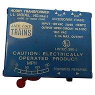 Vintage model railroad transformer hobby modelo8615