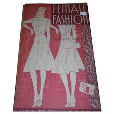 1930 40 Female Fashion how to draw the figure Fosrer art services