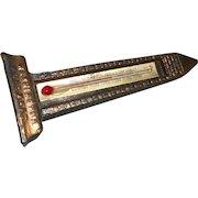Vintage thermometer Washington momument works