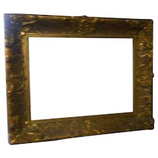 Circa 1880 gesso picture frame 22 x 17 inches