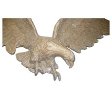 Vintage cast iron eagle 27 inches wide