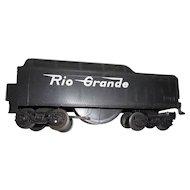 Vintage Lionel model train Rio Grande