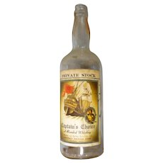 Vintage liquor whisky bottle from Monomoy Package store Chatham ma