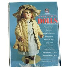 HARDCOVER BOOK/World Guide to Dolls by Valeria Jackson Douet