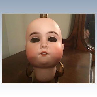 A W Special Bisque Doll Head