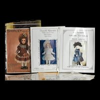 """Lot of 6 Doll Dress Patterns for Dolls 13"""", 14"""" 15"""""""