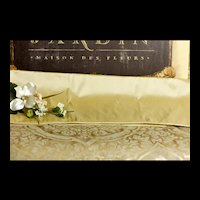 Ivory Shantung Silk Fabric for Doll Costuming