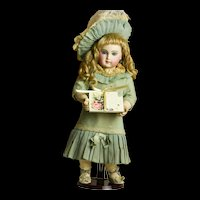 Artist Made Calling Card Case with Five Calling Cards Included for Doll Display