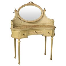 20th Century Italian Lacquered Dressing Table
