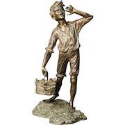 20th Century Neapolitan Bronze Sculpture