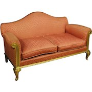20th Century Spanish Golden Sofa