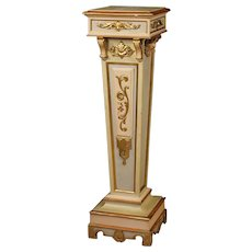 20th Century Italian Lacquered Column