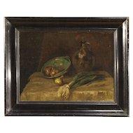 20th Century Dutch Still Life Oil Painting