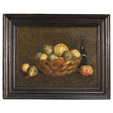 20th Century Dutch Still Life Oil Painting