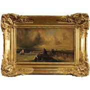 19th Century French Seascape Painting