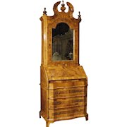 20th Century Venetian Inlaid Trumeau Desk