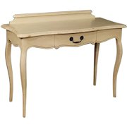 20th Century Italian Console Table Desk In Painted Wood With 1 Drawer