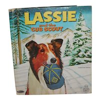 Tell a Tale Book Lassie and The Cub Scout Authorized Edition
