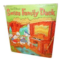 Walt Disney's Swiss Family Duck Whitman Tell a Tale Book 1964