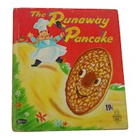 The Runaway Pancake Whitman Tell a Tale Children's Book