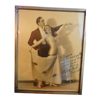 Dancing Delworth's Framed 8 by 10 Black and White Photograph