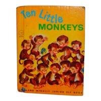 Ten Little Monkeys Junior Elf Children's Picture Book