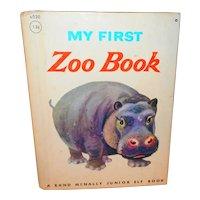 My First Zoo Book Junior Elf Children's Picture Book