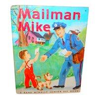Mailman Mike Junior Elf Children's Picture Book