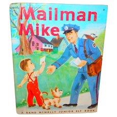 Mailman Mike Junior Elf Children's Picture Book