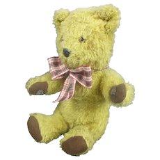 Chad Valley Hygienic Toys Seated Teddy Bear Vintage c1950