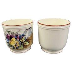 Pair Of Italian Ceramic Jardiniere or Planter Vintage c1950
